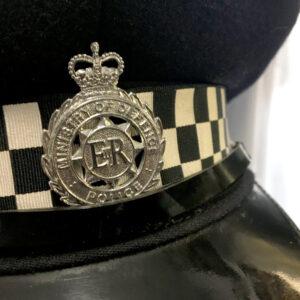 Czapka policji brytyjskiej 1
