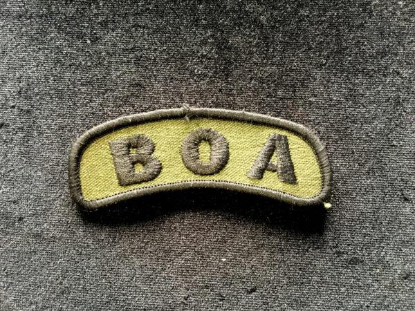 plakieta BOA 1