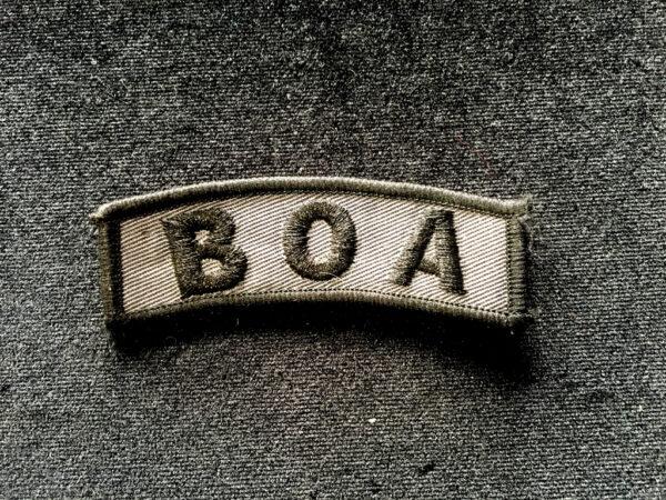 plakieta BOA
