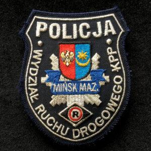 Plakieta - Wydział Ruchu Drogowego KPP Mińsk Mazowiecki