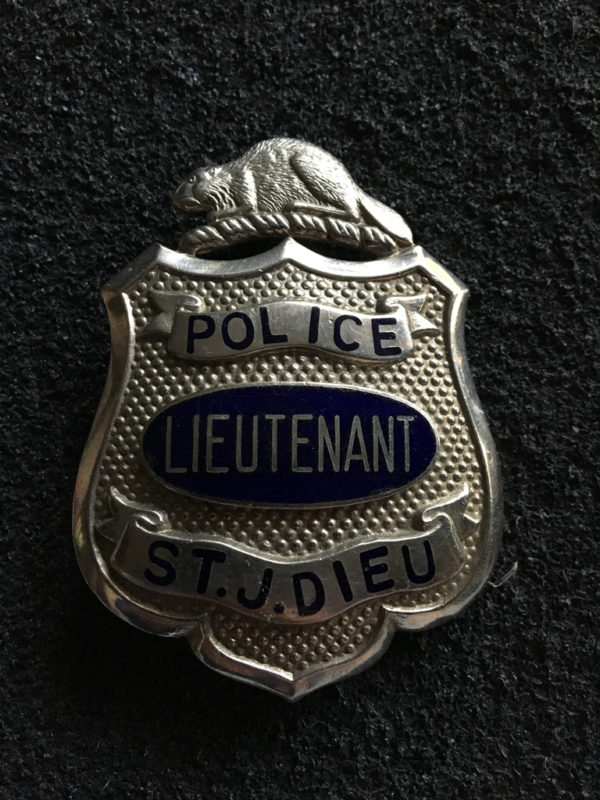 Police ST.J.DIEU