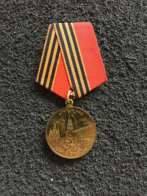 Medal 50l zwycięstwa w Wojnie Ojczyznianej