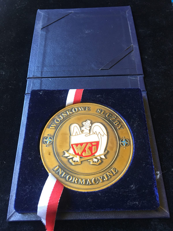 Medal pamiątkowy – Wojskowych Służb Informacyjnych – Oddział 36