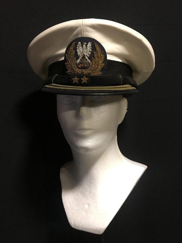 czapka komandor porucznik mw PRL