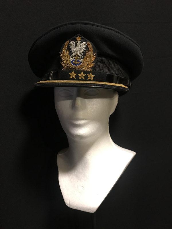 czapka komandora MW PRL 2
