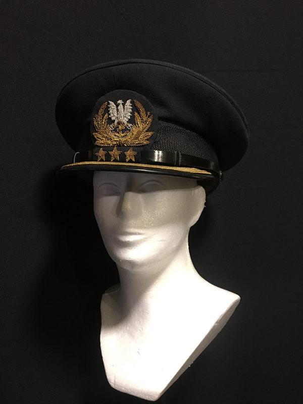 czapka komandora MW PRL