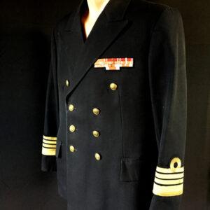 Mundur galowy komandora MW - czarny (+ spodnie )