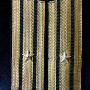 Pagony kapitana floty radzieckiej 3 rangi - mundur wyjściowy
