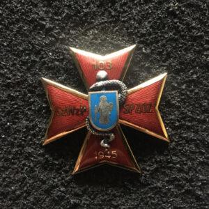 Odznaka - 103 Szpital Wojskowy z Przychodnią - Olsztyn