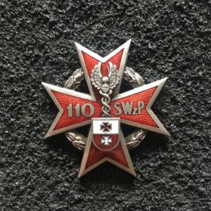 Odznaka - 103 Szpital Wojskowy z Polikliniką - Elbląg, w kolorze srebrnym