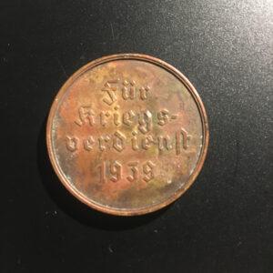 FUR KRIEGS VERDIEN 1939 2c