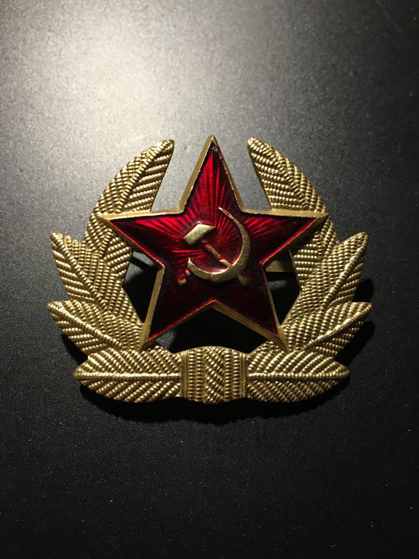 emblemat na czapkę zsrr 1