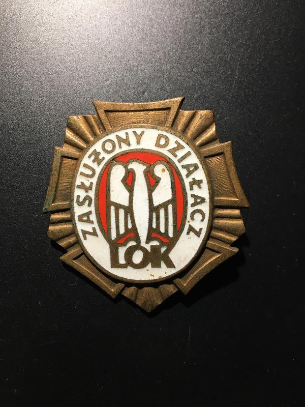 odznaka LOK 2