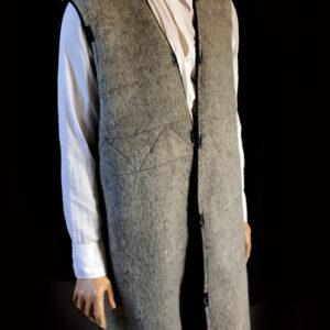 wojskowy płaszcz skórzany 12