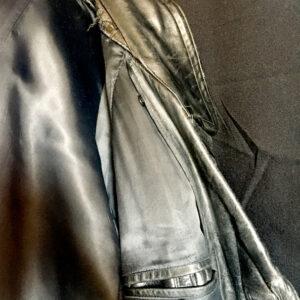 wojskowy płaszcz skórzany 7