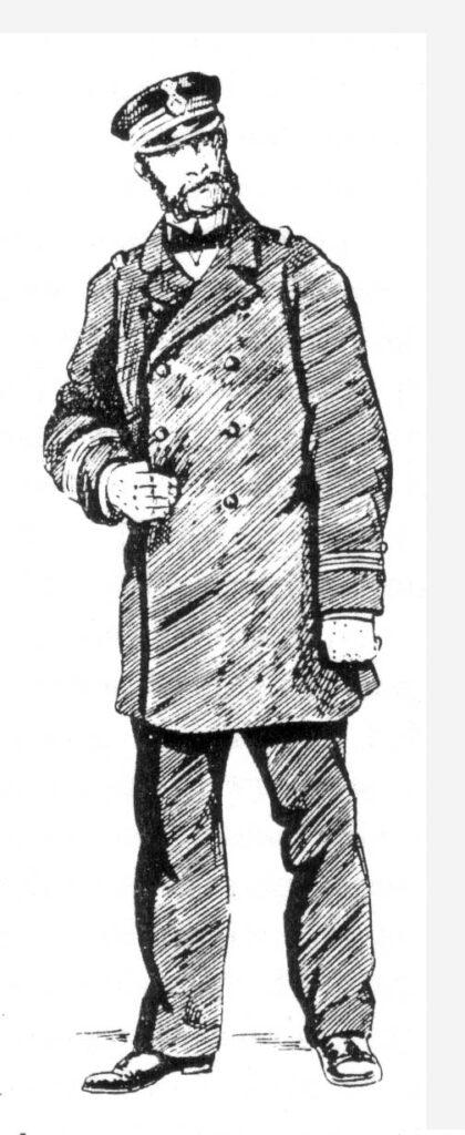 Oficer polskiej MW z 1864